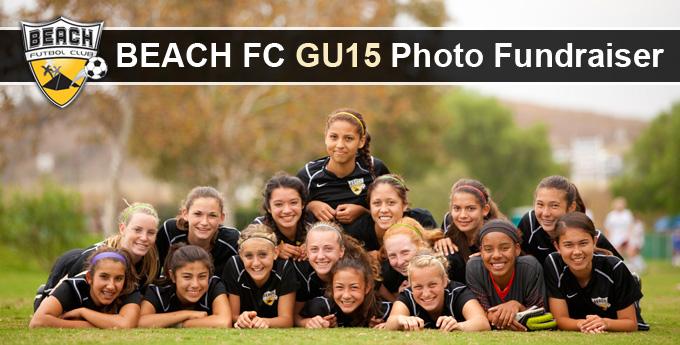 Beach FC GU15 PhotoFundraiser