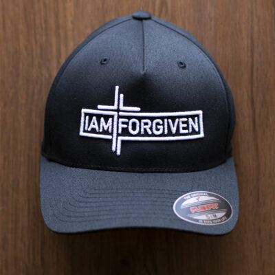 IAMFORGIVEN - Black Flexfit Hat