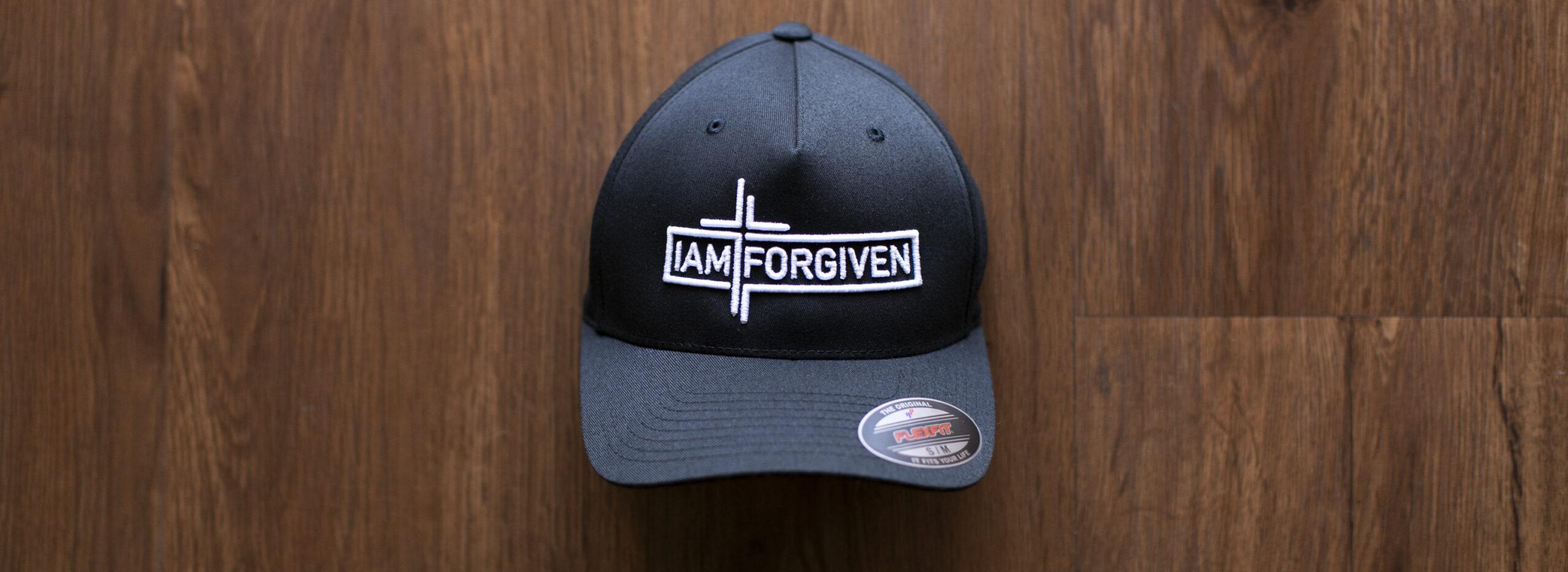 IAMFORGIVEN - Black Flexfit Hat