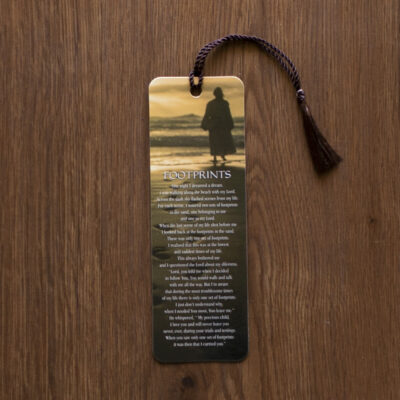 Footsteps Poem Jesus Bookmark